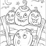 Ausmalbilder Halloween 12