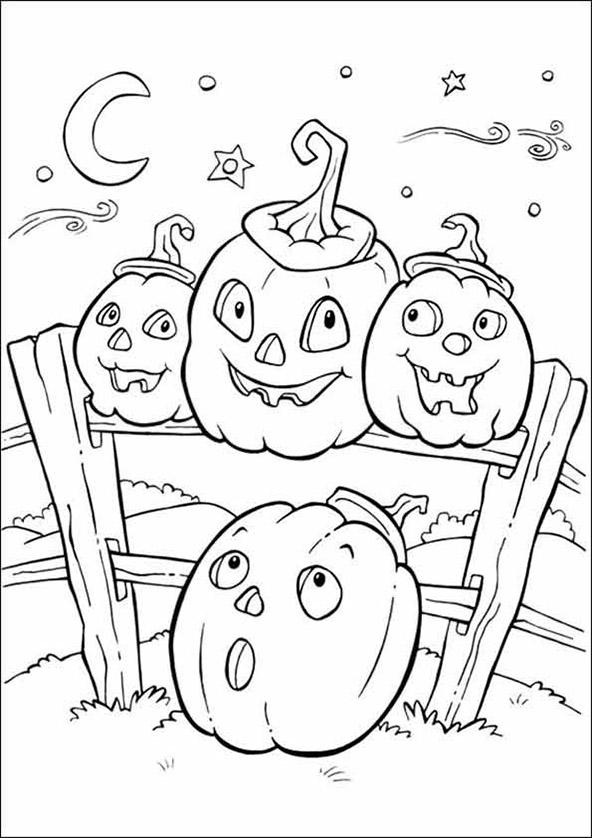 malvorlagen halloween 12
