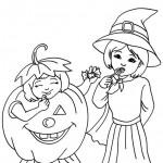 Ausmalbilder Halloween 13