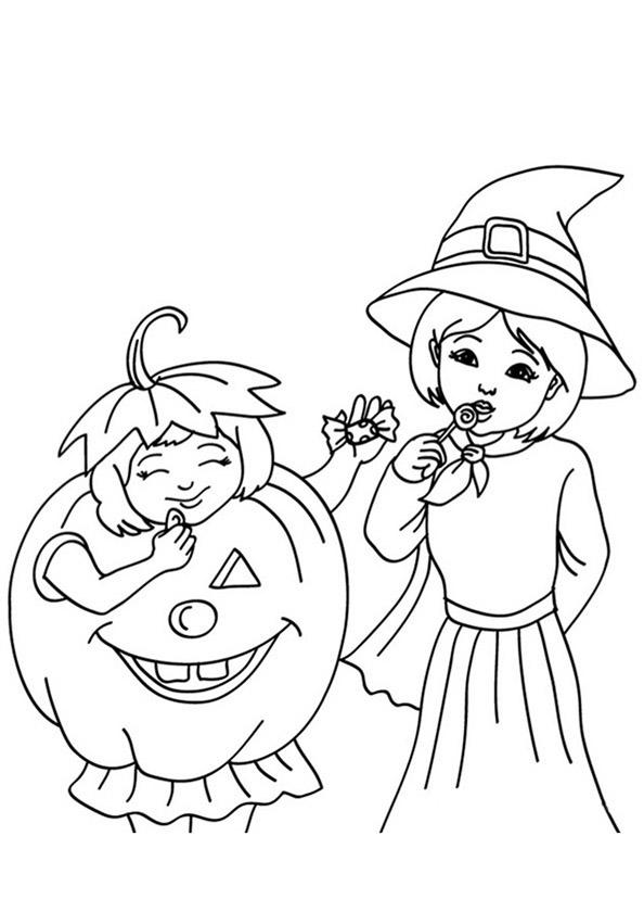 malvorlagen halloween 13