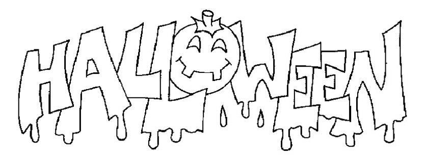 Ausmalbilder Halloween 19 | Ausmalbilder