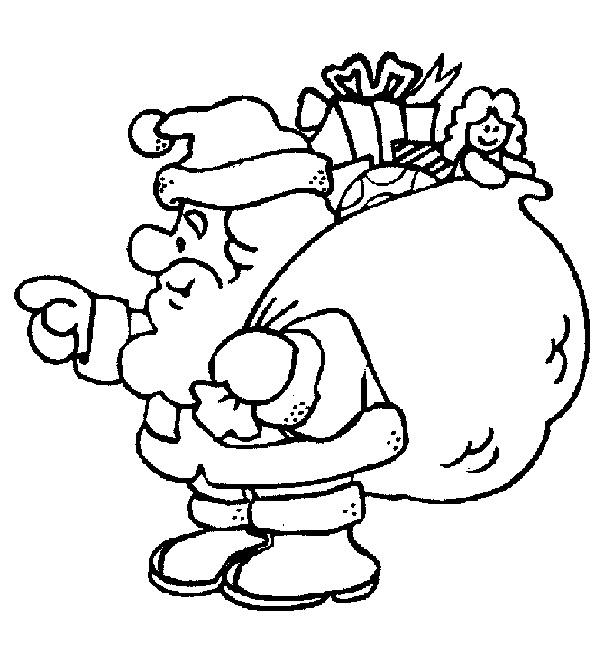 Nikolaus liefert Geschenke