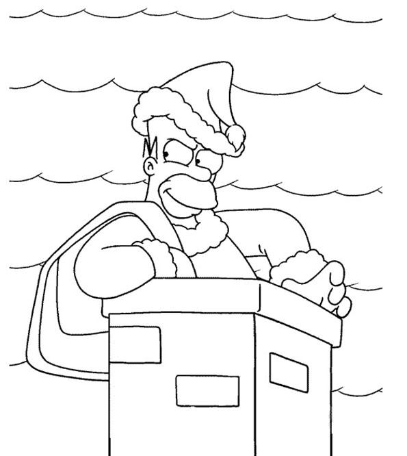 homer simpson und weihnachten
