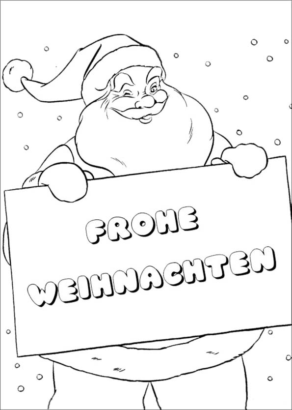 ausmalbilder weihnachten