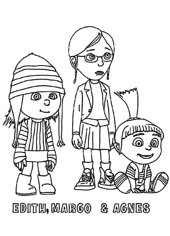Edith, Margo und Agnes