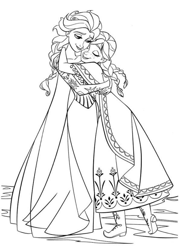 Ausmalbilder Eiskönigin 8