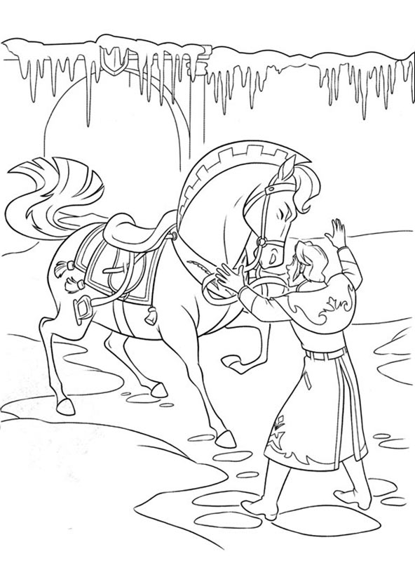 ausmalbilder Eiskönigin 15