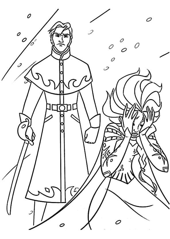 ausmalbilder Eiskönigin 17