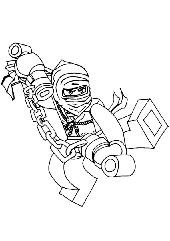 Ninjago Ausmalbilder