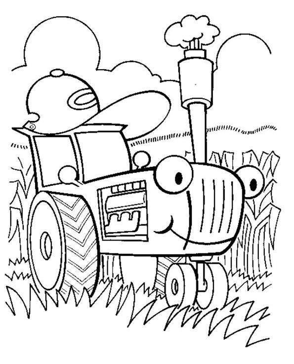 ausmalbilder traktor 2