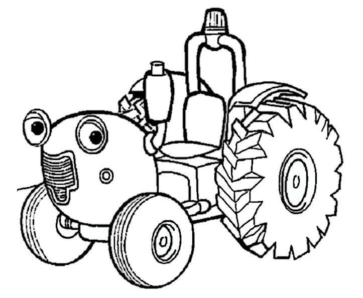 ausmalbilder traktor 4