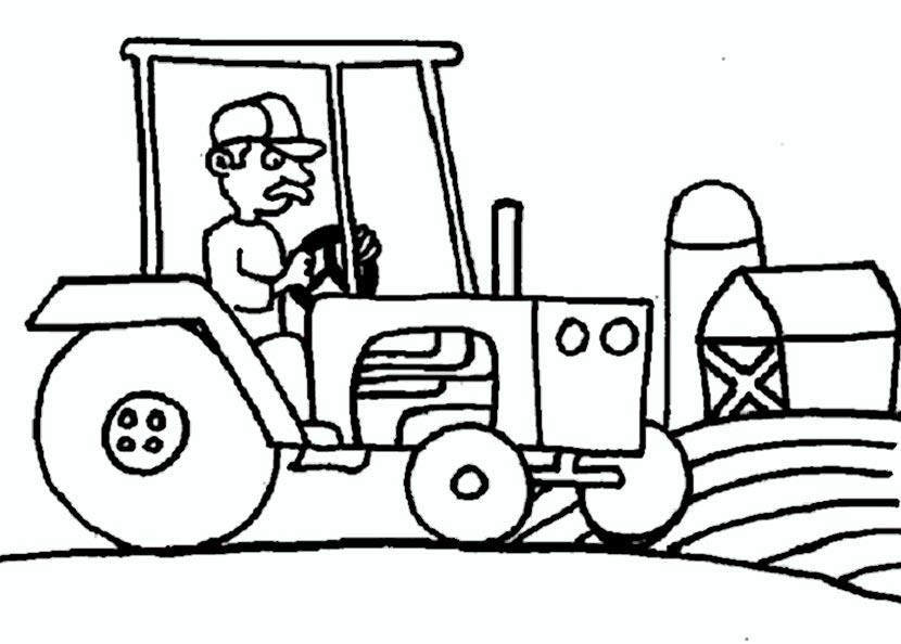 ausmalbilder traktor 7
