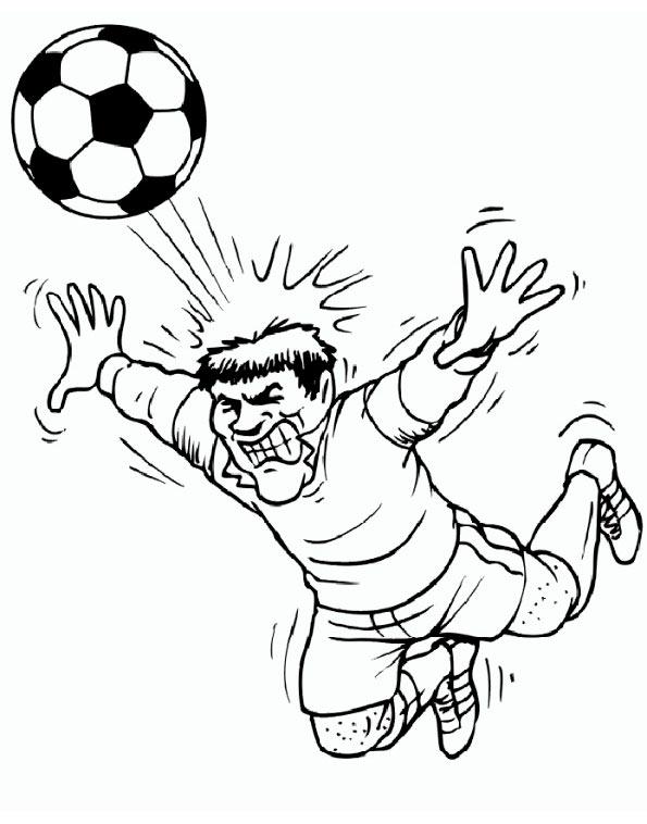 fußball zum ausmalen 2