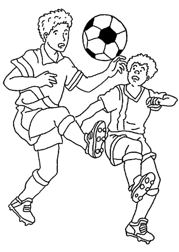 Fußball zum ausmalen 8