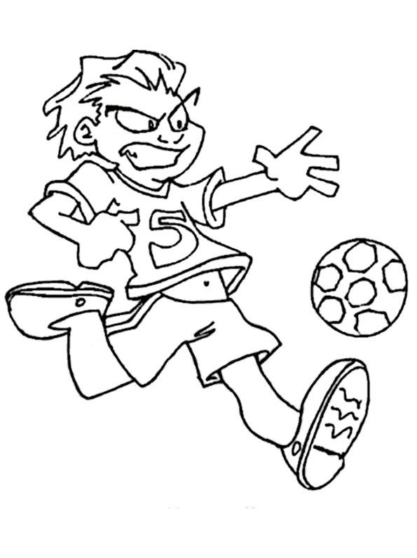 fußball zum ausmalen 10