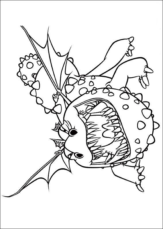 bilder 2 Ausmalbilder Drachenzähmen Leicht Gemacht ausmalen