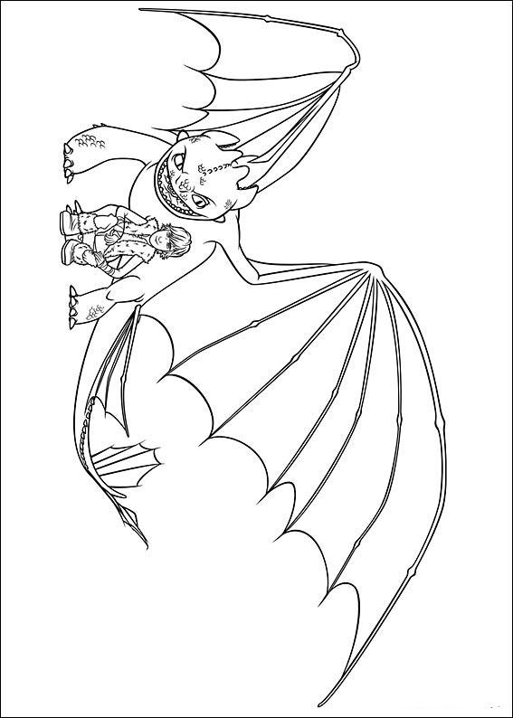 Ausmalbilder Drachenzähmen Leicht Gemacht 3 Ausmalbilder