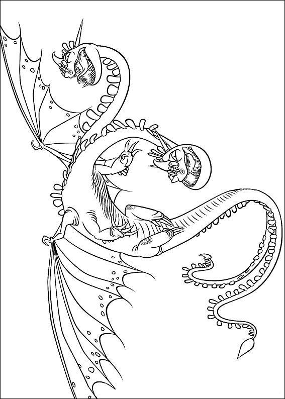 bilder 13 Drachenzähmen Leicht Gemacht zum ausmalen