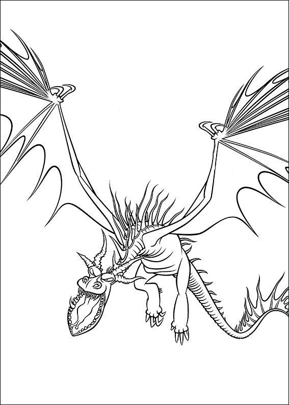 bilder 18 Drachenzähmen Leicht Gemacht zum ausmalen
