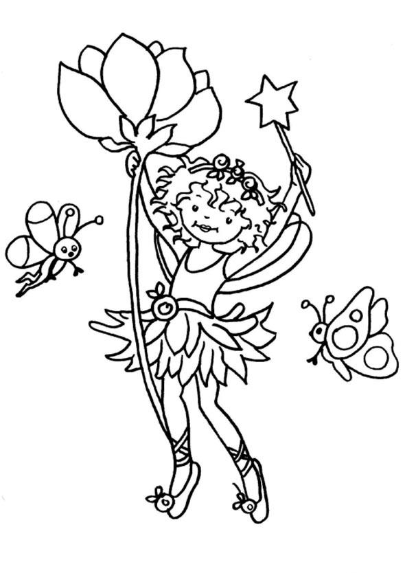 lillifee 7 ausmalen