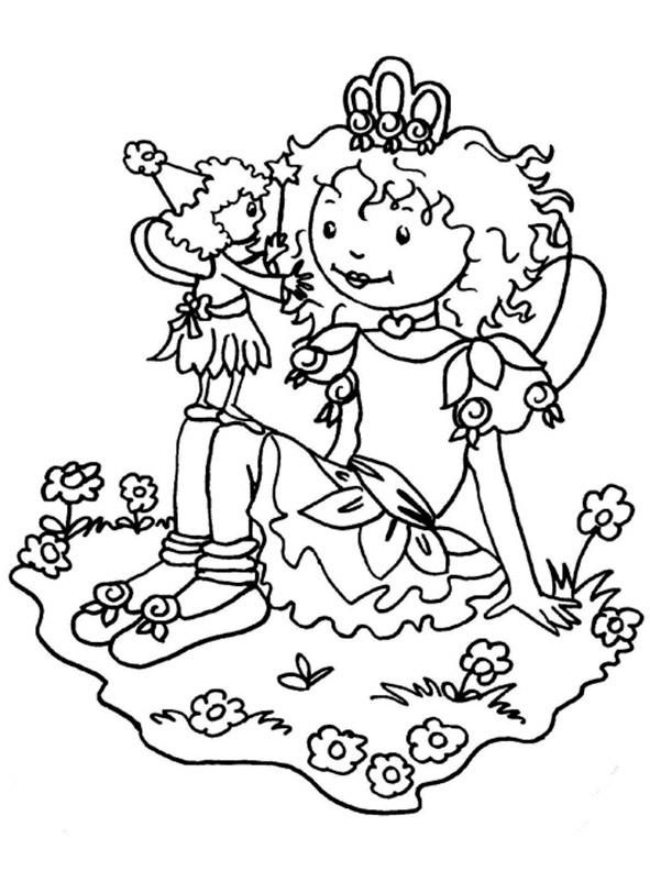Ausmalbild Lillifee Ausdrucken: Ausmalbilder Lillifee 17