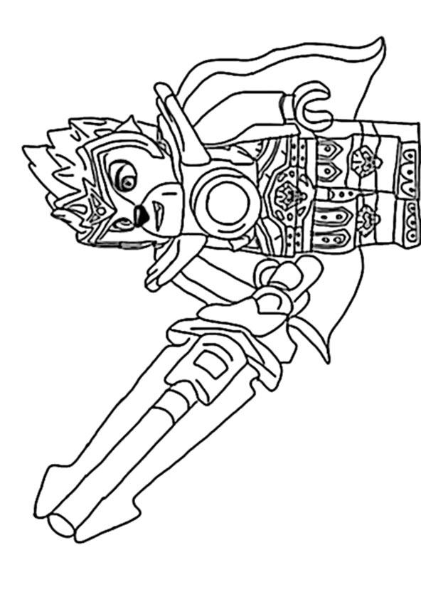 Ausmalbilder Lego Chima 5 | Ausmalbilder