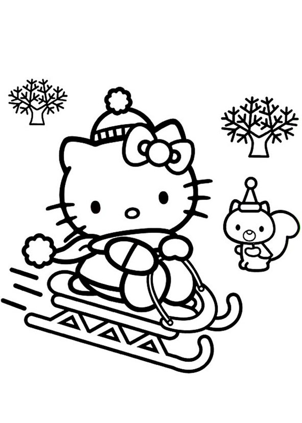 Hello Kitty Weihnachten