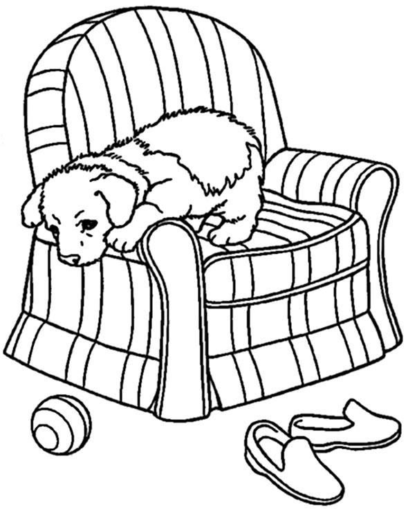 ausmalbilder hunde 5 | ausmalbilder