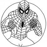Spiderman mandala