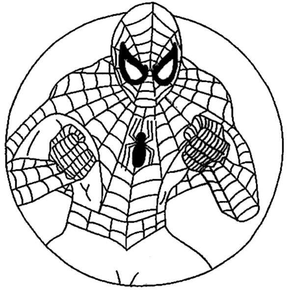 mandala spiderman