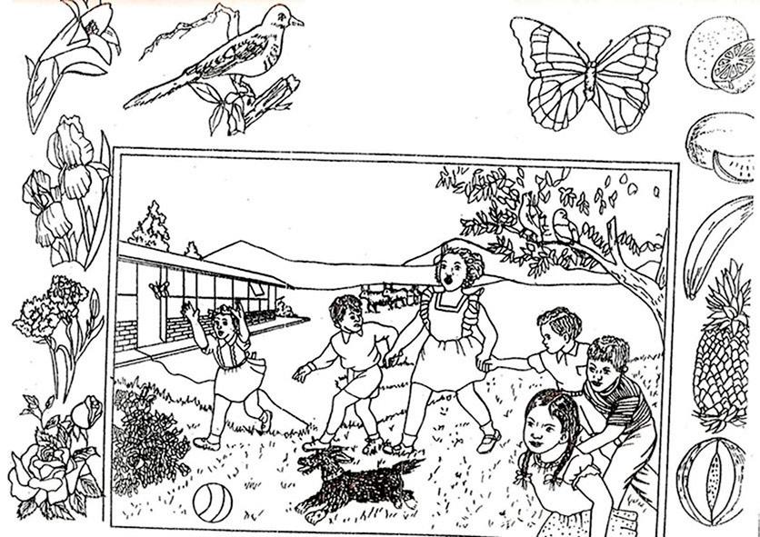 ausmalbilder frühling 11  ausmalbilder