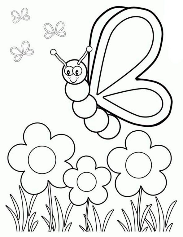 ausmalbilder Frühling 12