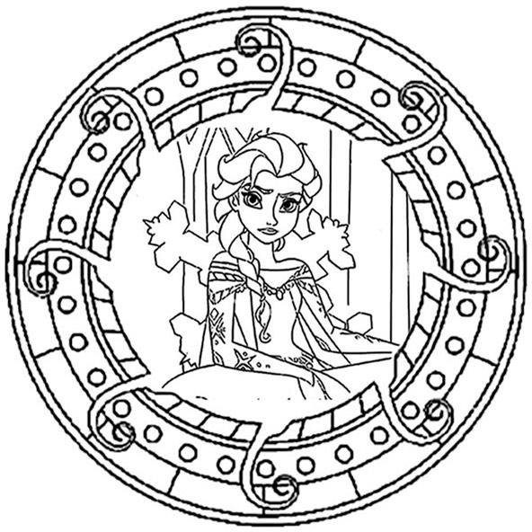 eiskönigin mandala 1