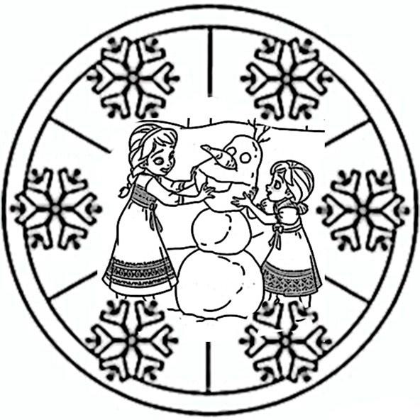 eiskönigin mandala 3