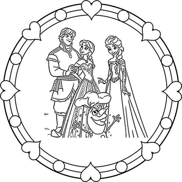 eiskönigin mandala