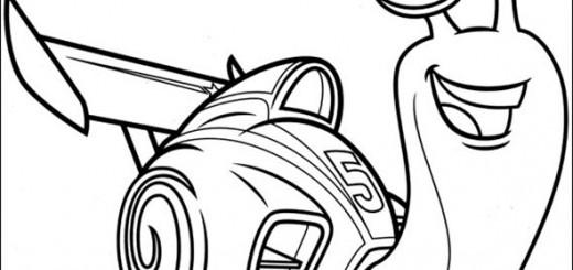 ausmalbilder turbo 5