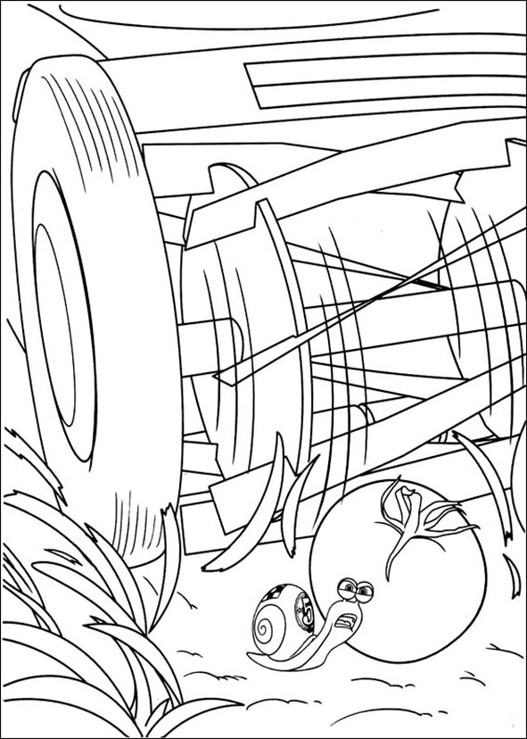 ausmalbilder turbo 6