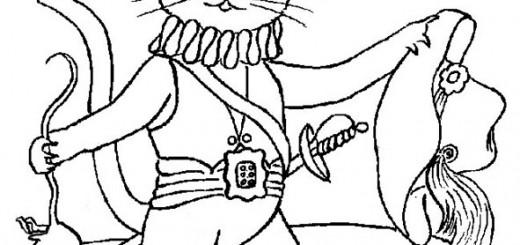 ausmalbilder märchen der gestiefelke kater