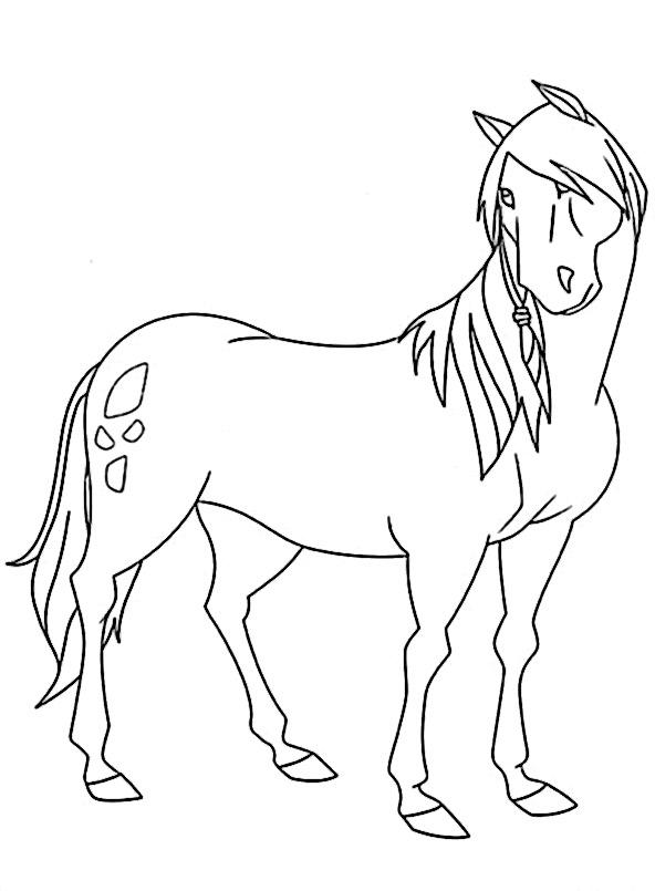 ein Pferd von Lenas Ranch ausmalbilder