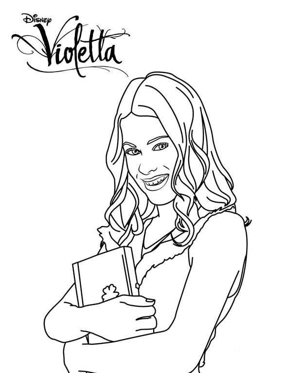 Violetta ausmalbilder (2)