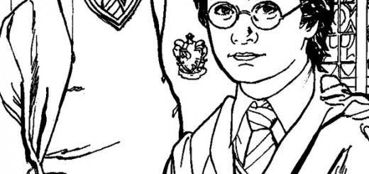Harry Potter ausmalbilder (2)