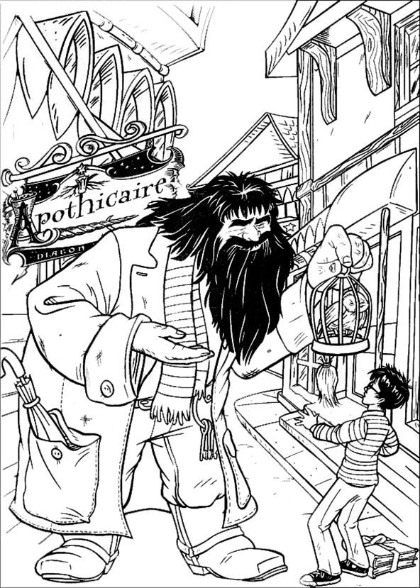 Harry Potter ausmalbilder (5)