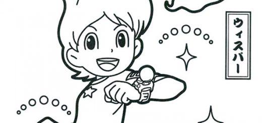 Bilder zum ausmalen Yo Kai Watch -1-