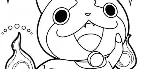 ausmalbilder Yo Kai Watch (10)