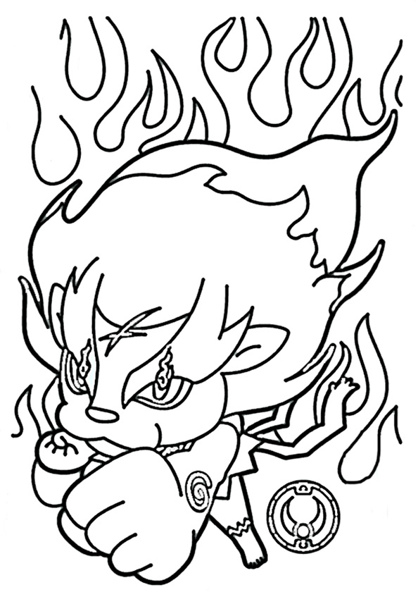 Malvorlagen Yo Kai Watch -7-