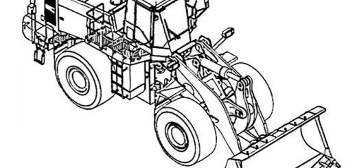 Ausmalbilder Bagger. Bild 26 zum ausdrucken