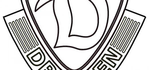 Dynamo Dresden Wappen zum ausmalen