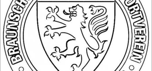 Eintracht Braunschweig Wappen zum ausmalen
