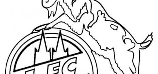 Fußball wappen FC Köln zum ausmalen