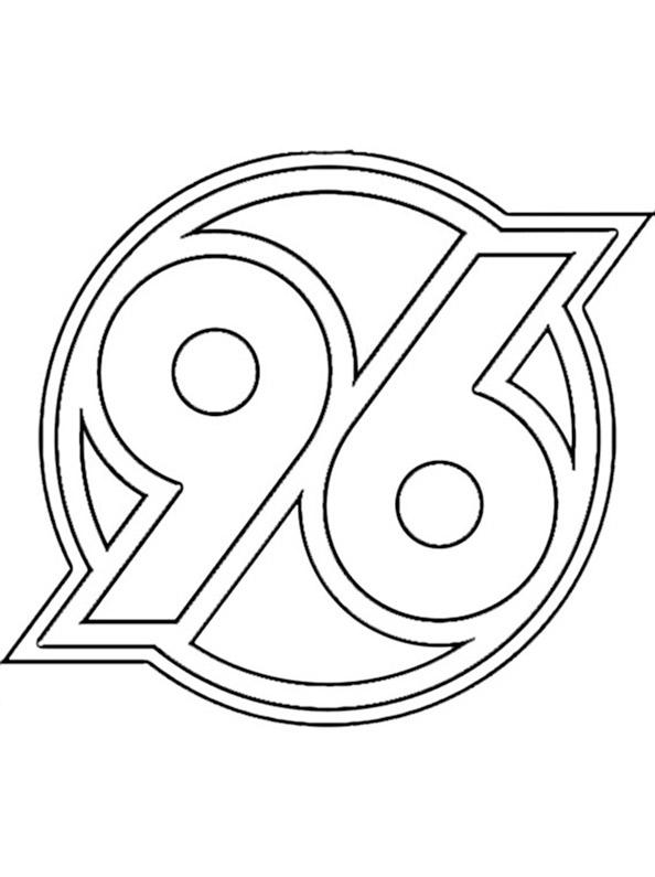 Hannover-96-Wappen zum ausmalen